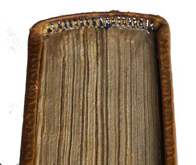 Headband and edge (detail), INC B68.