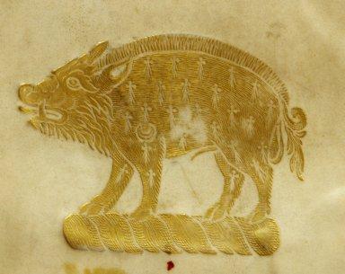 Boar stamp (detail), STC 1163 copy 1.