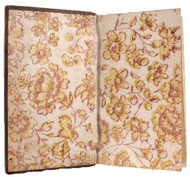 Decorative calico endpapers, STC 1708.