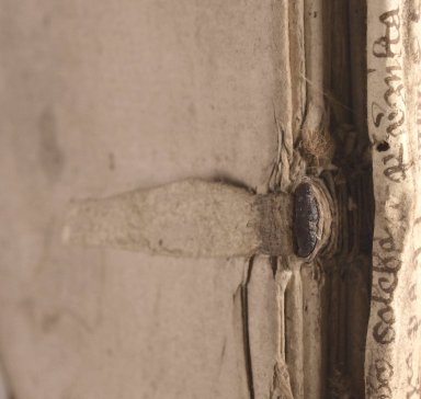 Sewing support (detail), STC 3839.
