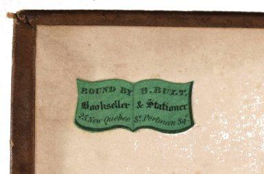Bookbinders ticket, STC 5168.