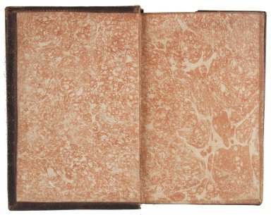 Marble paper endpaper, STC 12398 copy 2.