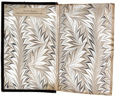 Marble endpapers, STC 12455.