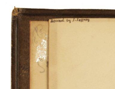 Binder's signature, STC 13657.