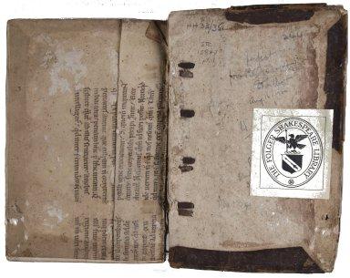 Inside back cover, STC 15847 pt. 1.