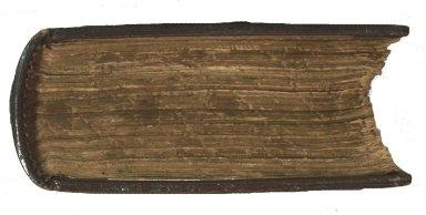 Gauffered bottom edge, STC 17273.