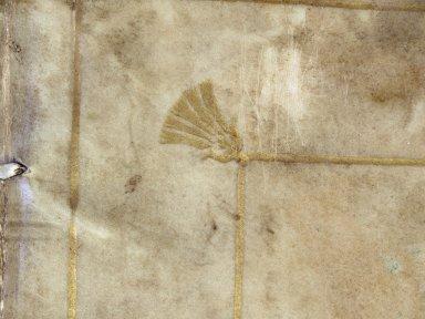 Corner stamp detail