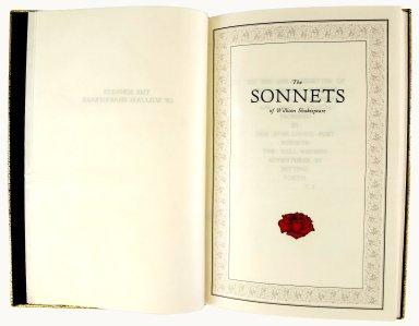 Title page, PR 2848 1990a Sh. Col.