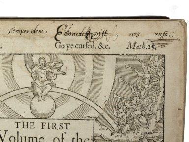 Inscription on title page, 267226.