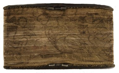 Gilt, gauffered and painted fore-edge, 266614.