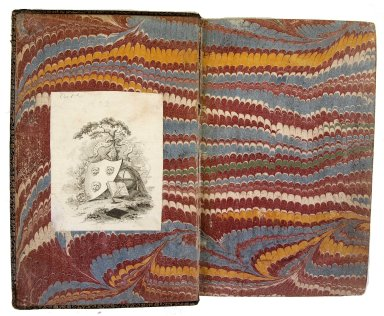 Inside front cover marble paper, 175- 175q.