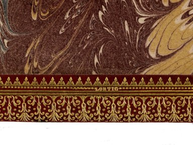 Binders stamp detail, 186- 470q.
