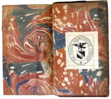 Inside back cover marble paper, 222- 635q v. 15.
