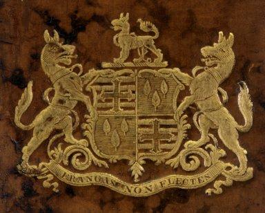 Coat of arms detail, 222- 635q v. 15.