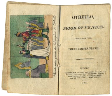 Othello, moor of Venice : embellished with three copper-plates.