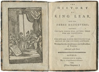The History of King Lear...