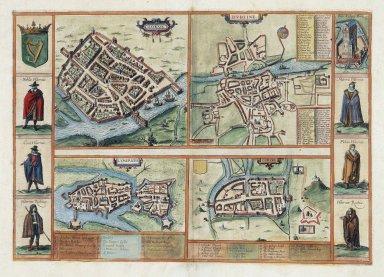 Map of Irish Cities