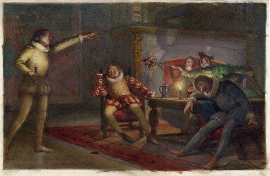 [Twelfth night, a revel scene, act II, sc. 3] [graphic] / Henry J. Haley.