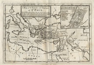 Thirty two new and accurate maps of the geography of the ancients ...