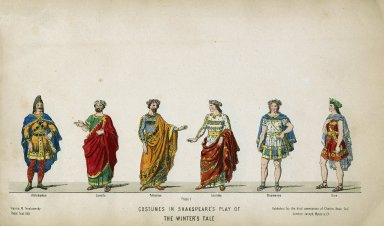 Costumes in Shakespeare's play of the Winter's Tale