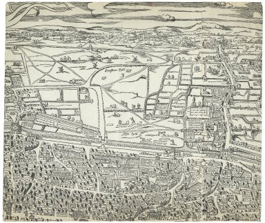 Map of London attributed to Ralph Agas