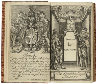 Bible. O.T. Psalms. English. Alexander. The Psalmes of King David translated by King Iames Cum privilegio Regiæ Maiestatis.