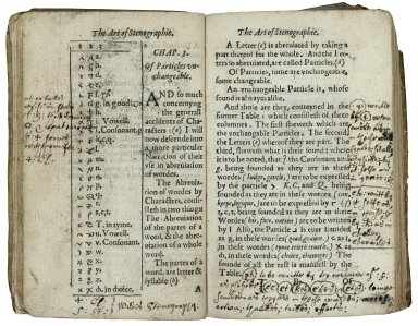 The art of stenographie, teaching by plaine and certaine rules…