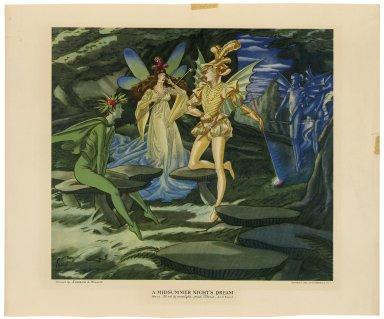 Titania (lithograph)