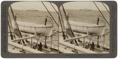 On board the SS Minehaha (photo)