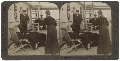 On board the SS Minehaha, Captain John Robinson (photo)