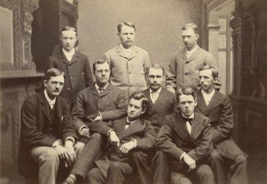 Mr. Folger and Amherst classmates (photo)