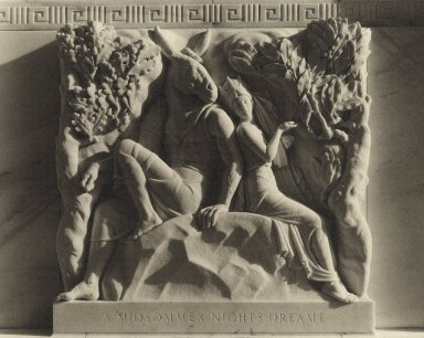 Midsummer Night's Dream bas relief (photo)