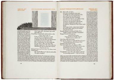 [Hamlet. German] Die tragische Geschichte von Hamlet, Prinzen von Daenemark…