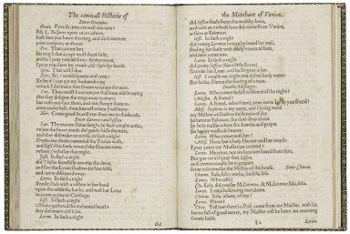 [Merchant of Venice] The most excellent historie of the merchant of Venice.
