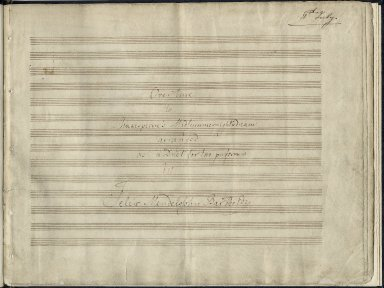 Overture to Shakespeare's Midsummer night's dream arranged as a duet for two performers on piano.
