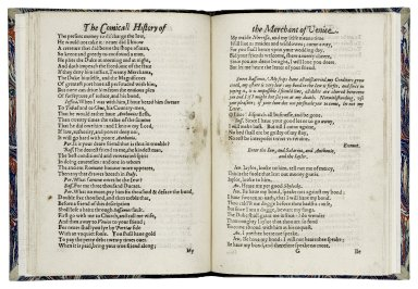 [Merchant of Venice] The excellent history of the merchant of Venice.