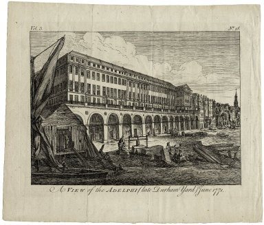 A View of the Adelphi (late Durham Yard) June 1771