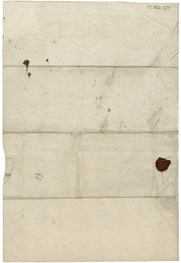 Autograph letter signed to her husband, George Villiers, Duke of Buckingham, requesting leave to go to the Royal Palace, Oatlands, near Weybridge. [manuscript]