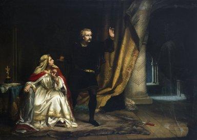 Hamlet in the Queens's Chamber