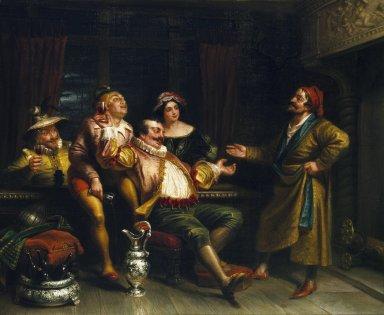 Malvolio Confronting the Revelers