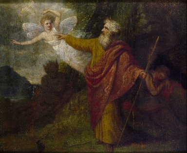 Prospero commanding Ariel