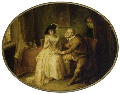 Mistress Ford and Falstaff
