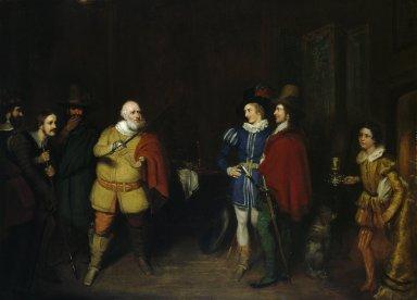 Falstaff relating his valiant exploits