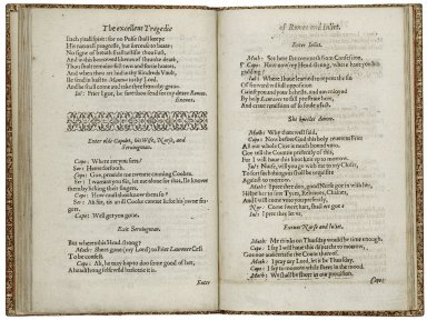 [Romeo and Juliet] An excellent conceited tragedie of Romeo and Iuliet. As it hath been often (with great applause) plaid publiquely, by the right Honourable the L. of Hunsdon his Seruants.