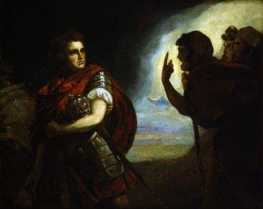 John Henderson as Macbeth