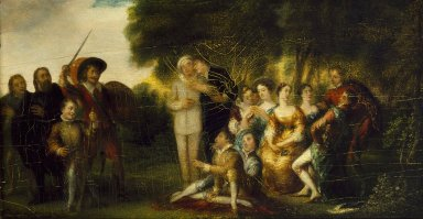The performance of the Nine Worthies