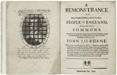 A remonstrance of many thousand citizens, and other free-born people of England, to their owne House of Commons· Occasioned through the illegall and barbarous imprisonment of that famous...