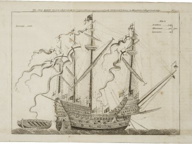 A description of an antient picture in Windsor Castle, representing the embarkation of King Henry VIII. at Dover, May 31, 1520; ... By John Topham, ...