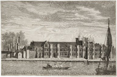 A view of the Antient Royal Palace called Placentia, in East Greenwich...