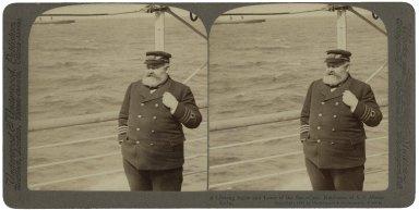 A lifelong sailor and lover of the sea - Captain John Robinson, of S.S. Minnehaha.
